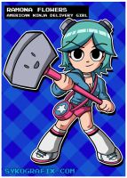 Ramona Flowers by ninjatron