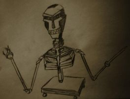Skeletron by malefique