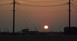 Dallas,Texas Sunrise July 6 2013 by Speck2