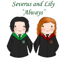 "Severus and Lily ""Always"" by JayDee-Art"