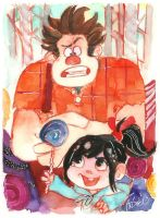 Wreck it Ralph by AndrewLaFish-Arts