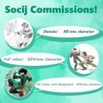 Comissions! by Socij