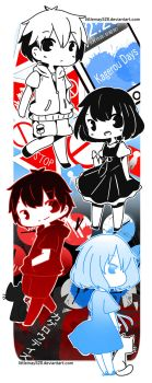 Kagerou Days Bookmark by Maymorin