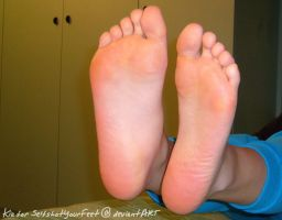 SelfShot Soft Pink Bare Soles by SelfshotYourFeet