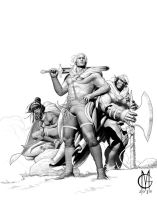 Cover Dragonero#24 WIP by GiuseppeMatteoni