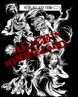 Alice in Zombieland by zombie-you