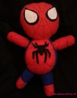 Spiderman Plush by fromzombieswithlove
