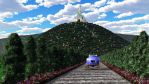 Hilltop Castle by stagelighting