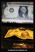 the dollar by B-Alsha3er