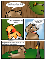 The Bird and the Dog II by Budgies