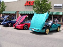 Corvette Friends by PhotoDrive