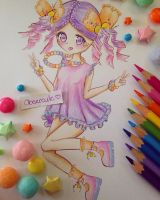Sherbet Candy Inspired~ by Obsercule-SideArt