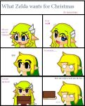 what Zelda wants for christmas by FantasyLinky