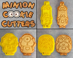 Minion Cookie Cutters by Crimson-Mane