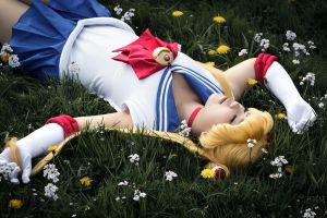 Sailor Moon - take a break by SuperMinaco