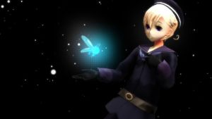 [Hetalia MMD]Norway with fairy by MemoOwO