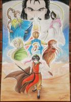 Suikoden: Drawing on a Canvas by ChiisaYanagi