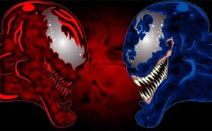 venom VS carnage by theundead01