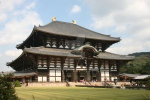 Temple at Nara by Stangace20