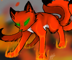 :AT: On Flames by MustashKell48