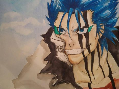 Grimmjow/Bleach by MilesCain