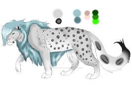 *point auction*CLOSED-- fantasy lion by Thecopperbeast