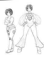 Revised Disco Girls 3 by Thulesse