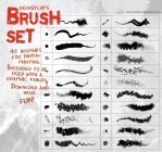 Velvetcat's Brush Set by velvetcat