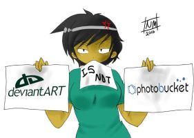 deviantart is not Photobucket by NightmareMiku
