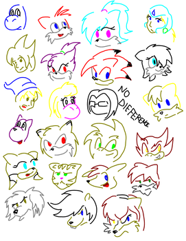 MSN Rapid Fire Doodles by Squeaky-the-Zepa