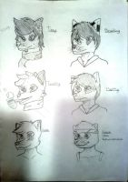 Headshot Compilation (1/2) by Bradley-The-Blue-Fox
