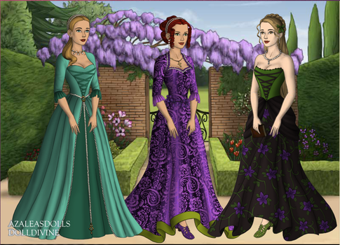 Me and my friends in old fashion form by Book-Obsession-7