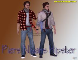 Piers Casual Hipster [Download Available] by xXLife-Starts-NowXx