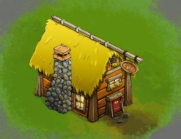 Isometric Inn, The Frothy Fish by thejenty