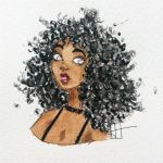 Curly girl by christelleriou