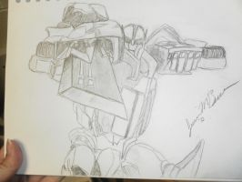 TFP Ratchet Sketch by Baconette