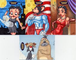 Cartoon Sketch Card set 2 by Artassassin