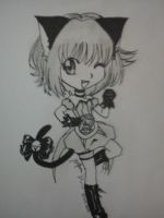 Chibi Mew Ichigo by black-cat-lover-mew