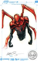 Superior Spider-man - Colors on sketch by bennyfuentes