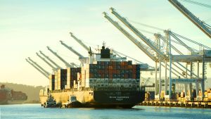 Port of Oakland by thevictor2225