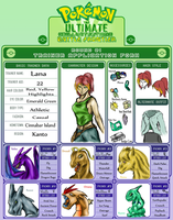 Lana - Trainer Card by icedragon2008