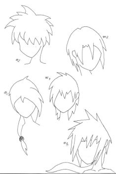 Hairstyles by mangamax7
