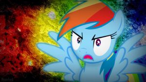Rainbow Dash Wallpaper by InsomniaQueen