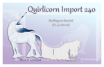 Quirlicorn Custom Import 240 by Astralseed