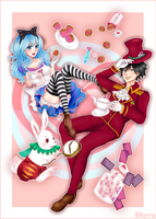 Gruvia in wonderland - for the contest by moko212