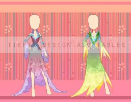 (Closed) Adoptables : Tiefix dresses by fantazyme