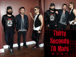 Thirty Seconds To Mars by MissArkhamAngel