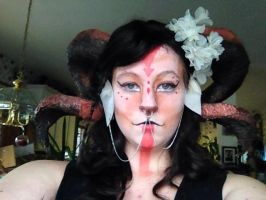 Satyr Makeup by Wolflover29