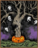 The Halloween Tree - Colorized by khamarupa