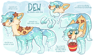 Dew MYO Waterbabe by naida4